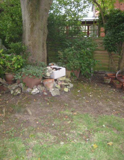 Wildlife Garden HQ Before